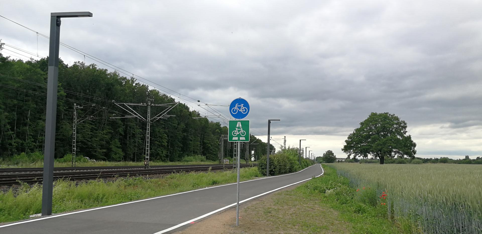Längster Radschnellweg wurde eröffnet